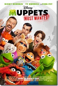 Muppets Most Wanted {Review}
