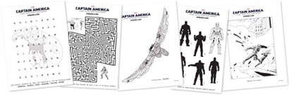 Captain American: The Winter Soldier Family Pack