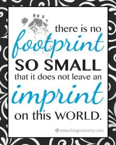 no footprint too small