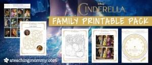 FREE Disney Cinderella Printables