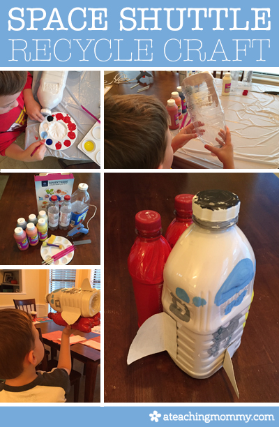 Do you have a future astronaut? Why not help them create their very own space shuttle craft with everyday items from your home. READ ON TO LEARN HOW...