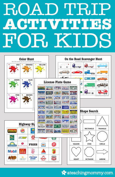 Are you looking for road trip activities to keep your kids entertained on a long drive? Check out this list of our favorites and grab some FREE printables.