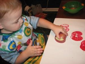 Family Theme Night- Apples