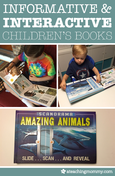 Interactive Books Give Your Kids X-Ray Vision
