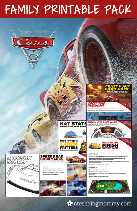 Free Cars 3 Family Pack
