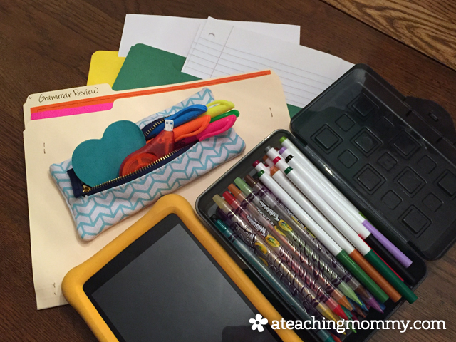 You don't have to spend a lot of money to put together a home writing center that works for your student. Just start with these 3 simple steps to make writing fun and fresh every day.