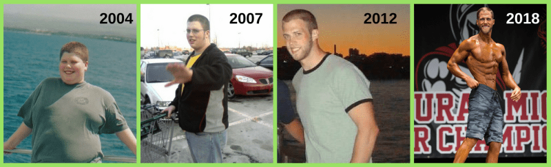 Alex weight loss timeline