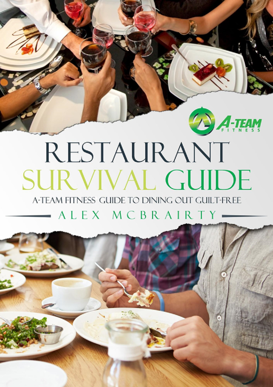 Restaurant book cover