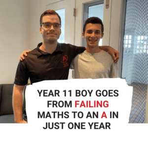 Year 11 Student Goes From Failing to an A in Math in Just One Year!