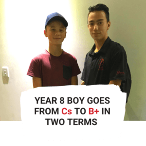 Year 8 Boy Goes From C's to B+ in 2 terms