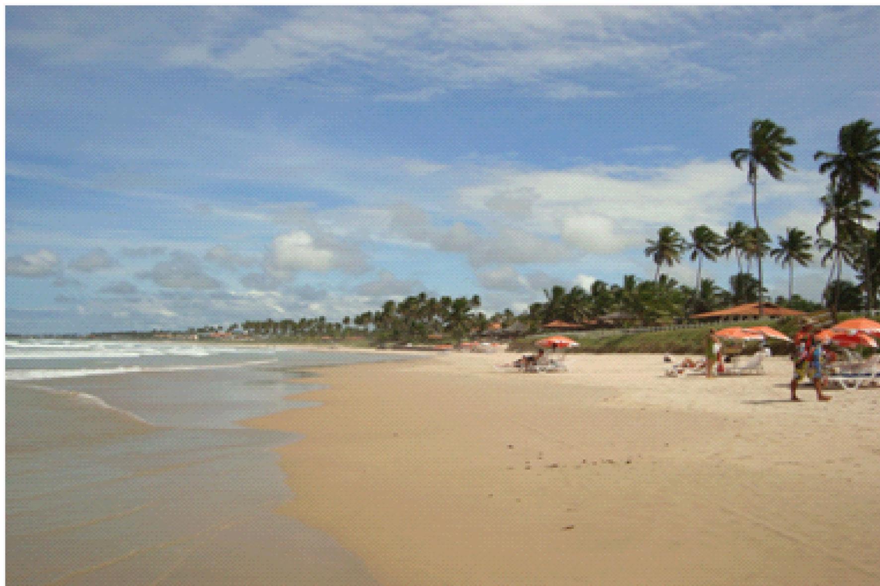 Praia do Cupe/ Frente do Hotel Pontal de Ocaporã