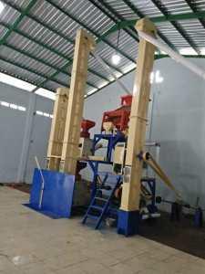 instalasi sosoh padi di Kabupaten Purbalingga