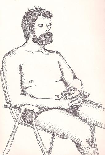 Felix Mauricio 2008 caneta nanquim