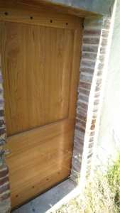 Porte Albigeoise sans vitrage