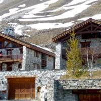 Chalets de montagne au Fornet à Val d'Isère