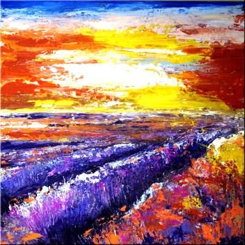Natur Lavendelfeld Art Nr. 443