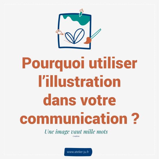 pourquoi utiliser l'illustration dans votre communication