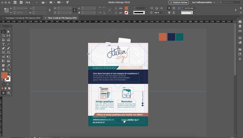 Mes logiciels de graphisme - illustrator