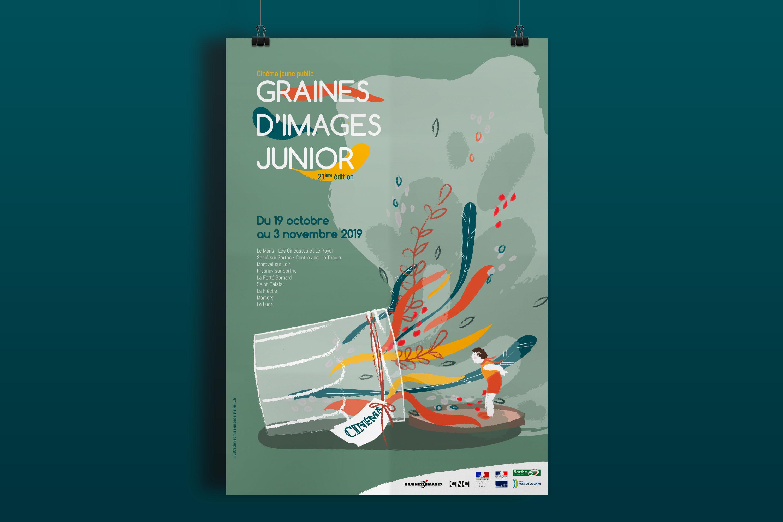 affiche festival graines d'images 2019