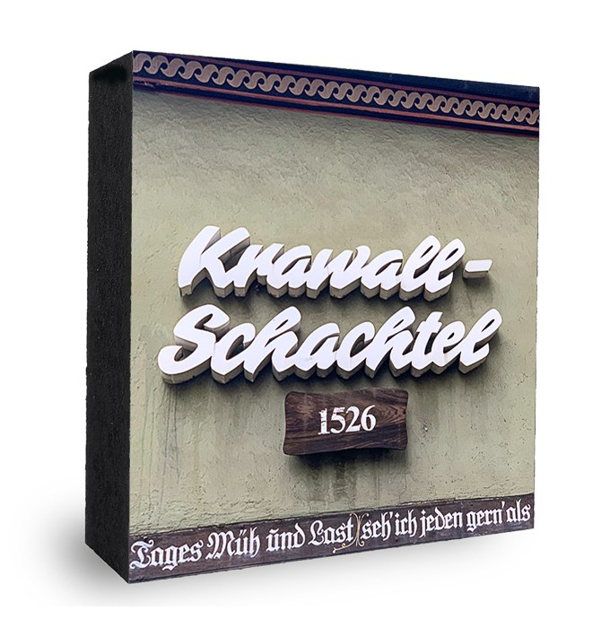 Kravall Schachtel Frankfurt