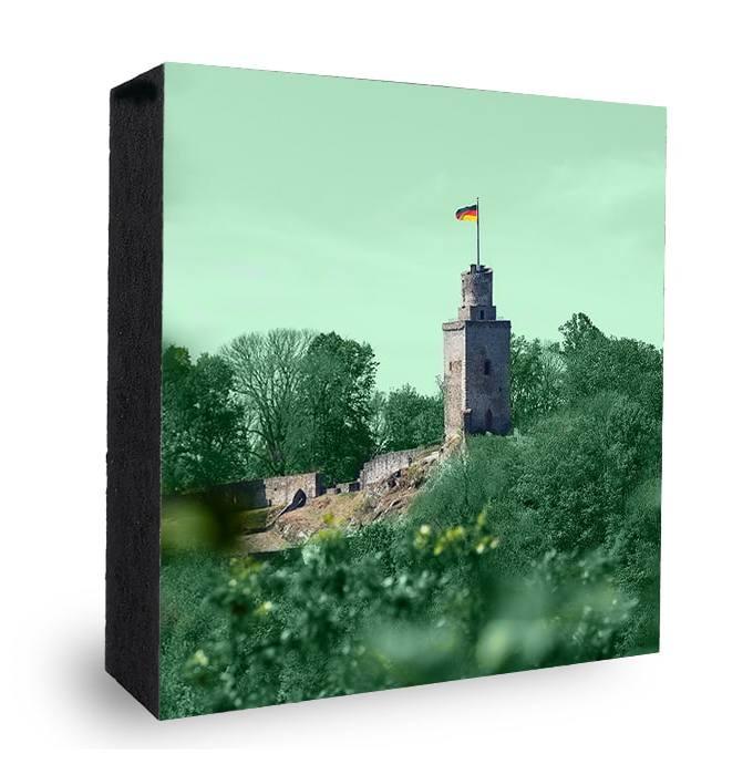 Falkensteiner Burg bunt- grün