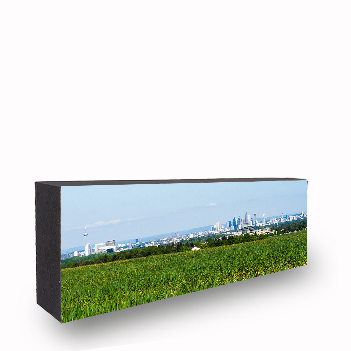 Blick auf Frankfurt Skyline Panorama