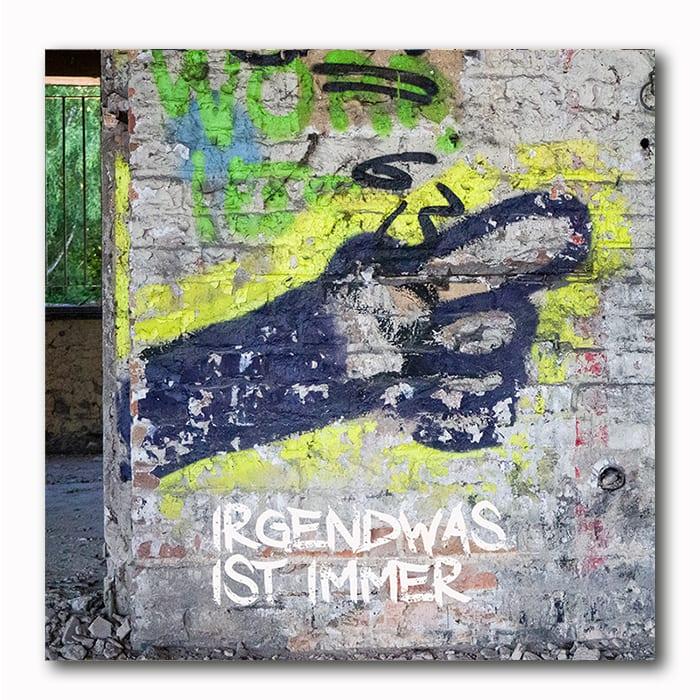 Zeigenfinger Graffiti - Atelier Klick Blick