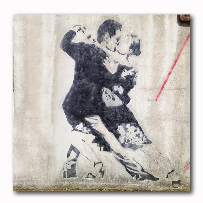 Tango Graffitie - Street Art