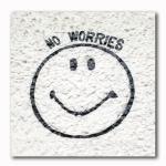 No Worries Smily Graffiti