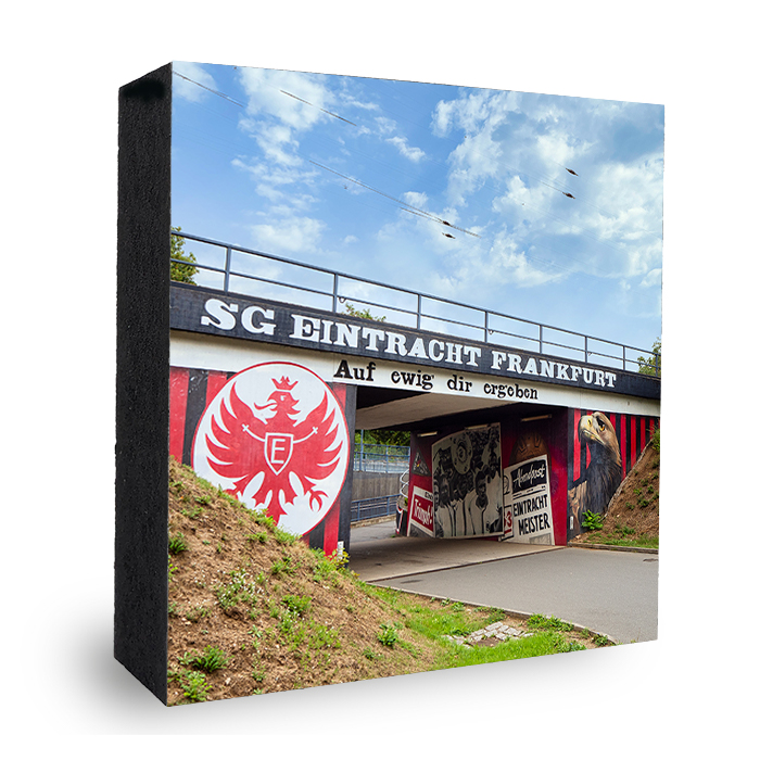 Eintracht Frankfurt Logo Graffitie