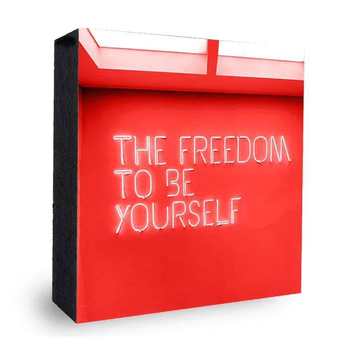 Freedom to be yourself - rot