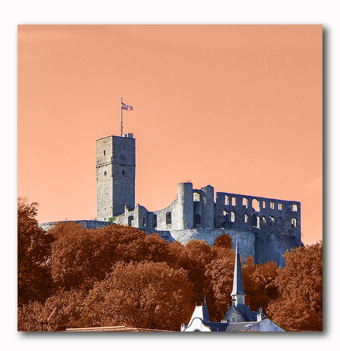 Königsteiner Burg orange