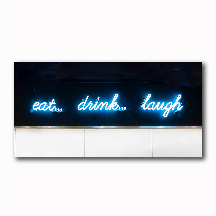 eat drink laugh