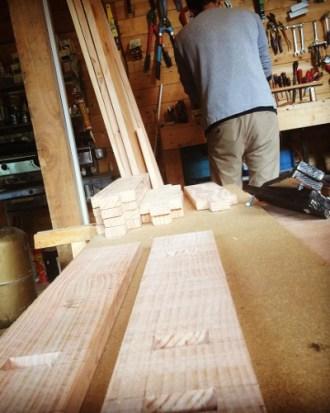Un atelier bois dans le tiers lieu de lozere