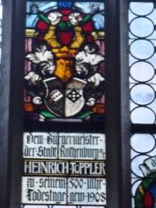 聖ヤコブ教会のステンドグラス