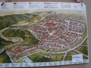 ローテンブルク地図