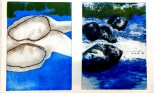 Radierung (2 Platten) jeweils 2fach gedruckt; 50x70; 2017; 580€