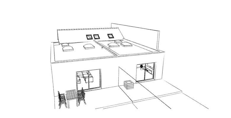 14.02 Extension de maison Dunkerque - Atelier permis de construire11