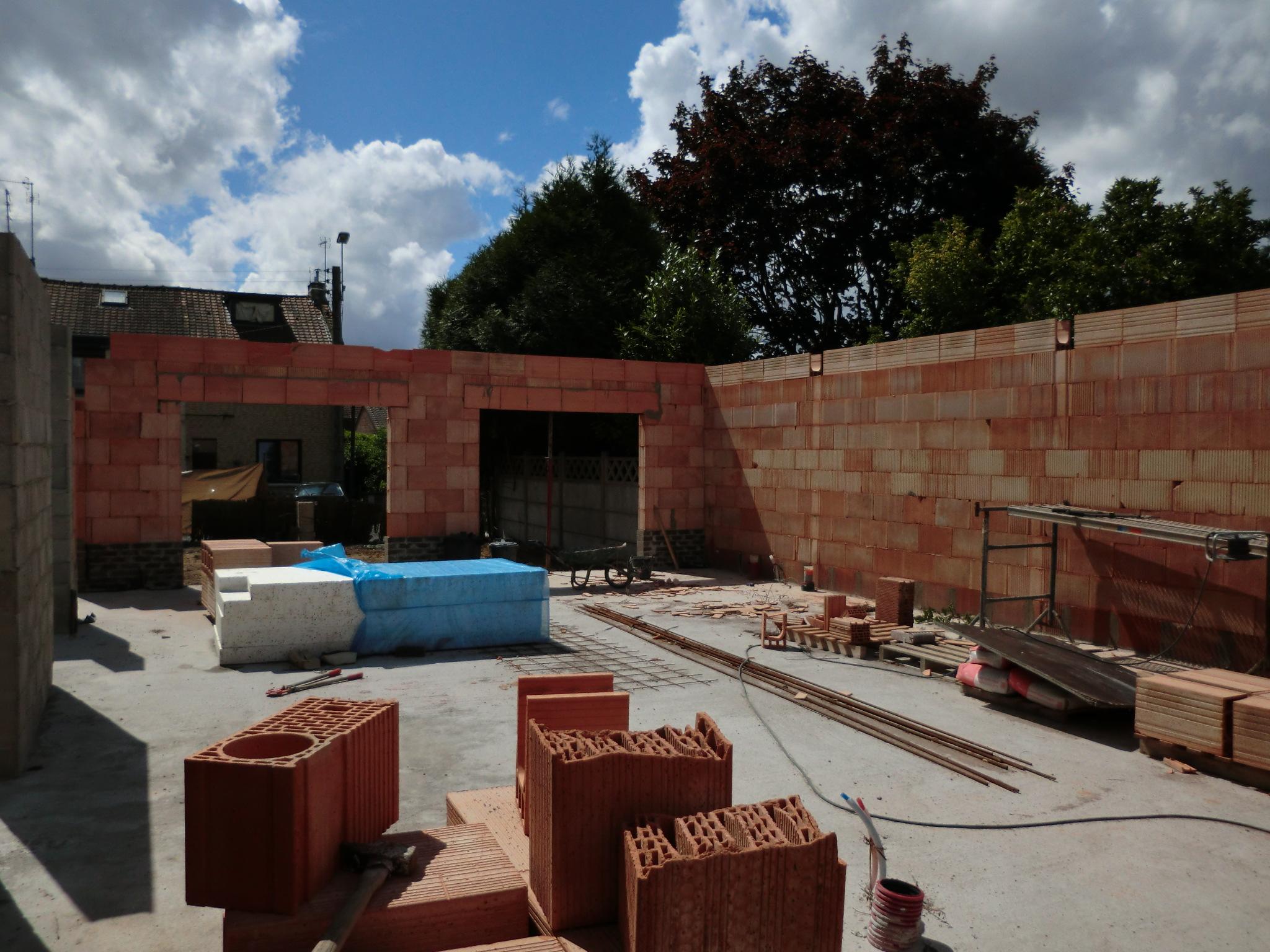 Construction d 39 un plain pied lys lez lannoy - Extension maison permis de construire ...