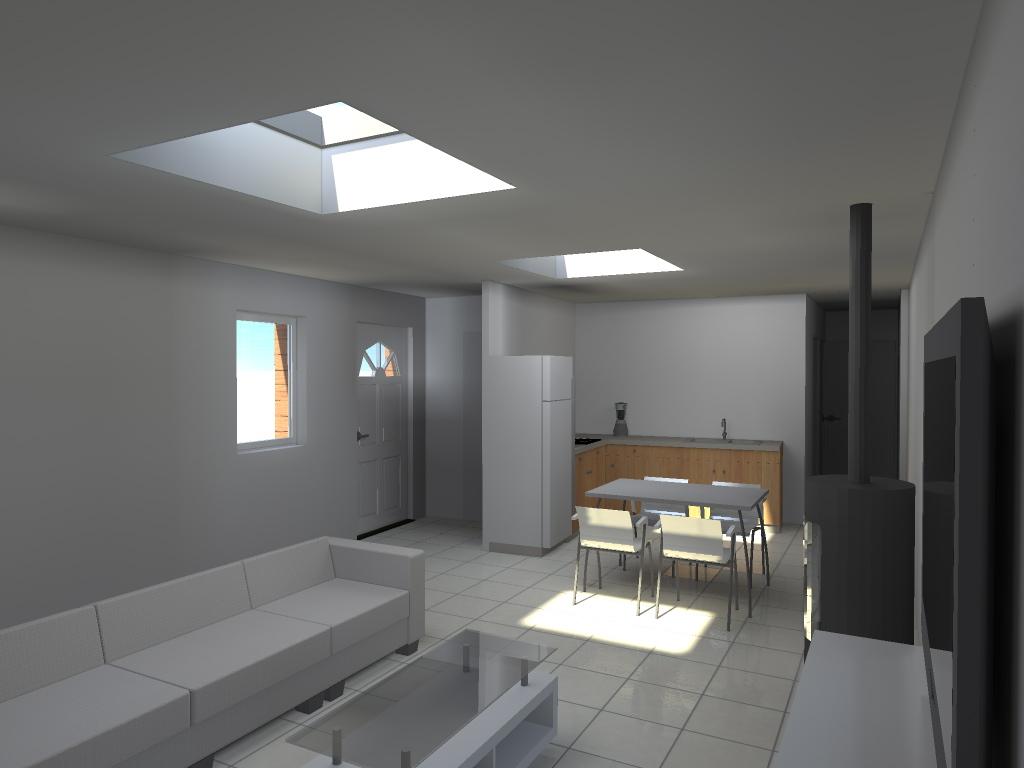 Transformation d 39 une curie en habitation orchies - Permis de construire extension ...