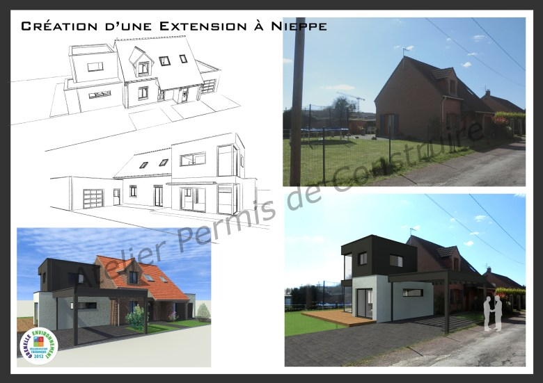 13.11. Atelier permis de construire - Extension Nieppe
