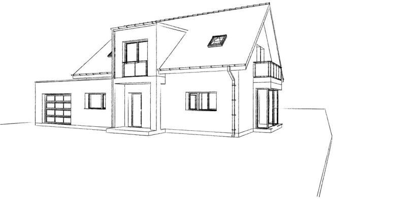 21. Atelier permis de construire Maison Calonne sur la Lys 1