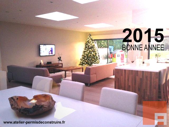 carte de voeux 2015 atelier permis de construire