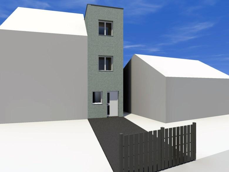 14.08 Extension maison étroite Dunkerque - Atelier permis de construire2