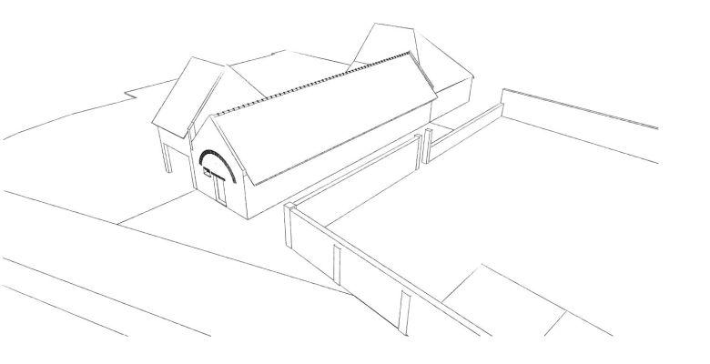 15.12 rénovation d'une grange Nord Permis de construire Fline-lez-raches1