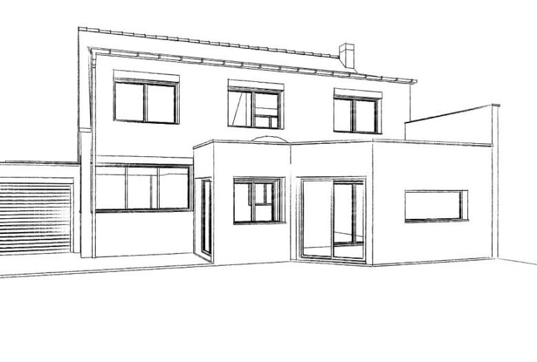 15.22 Atelier Permis de construire extension nord Herlies2
