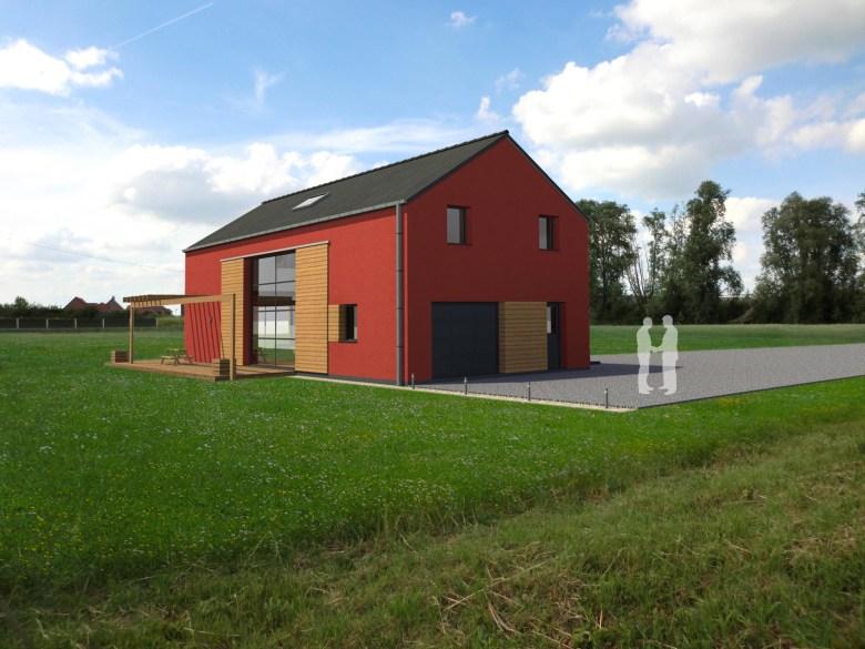 15.08 Atelier Permis de construire construction maison Loft La Gorgue14.2