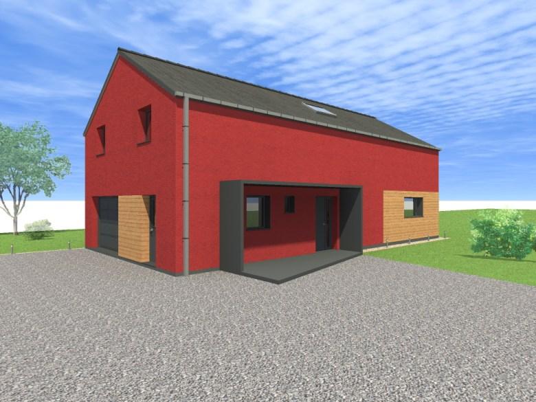 15.08 Atelier Permis de construire construction maison Loft La Gorgue8