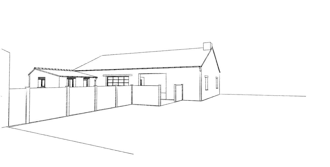 Transformation d 39 un atelier en habitation avec la cr ation - Permis de construire extension ...