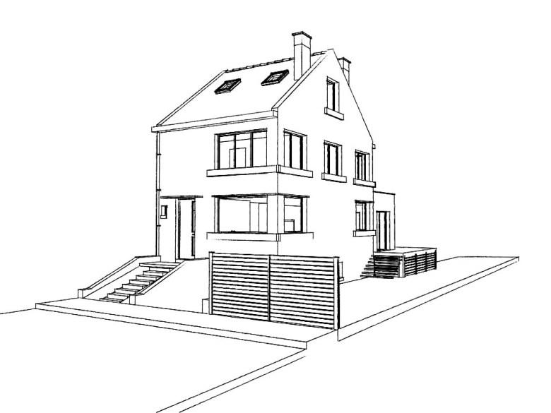 15.29 Atelier Permis de construire extension nord Marcq en Baroeul5